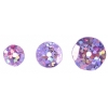 Sequins Round 6/8/10mm Hologram Pink